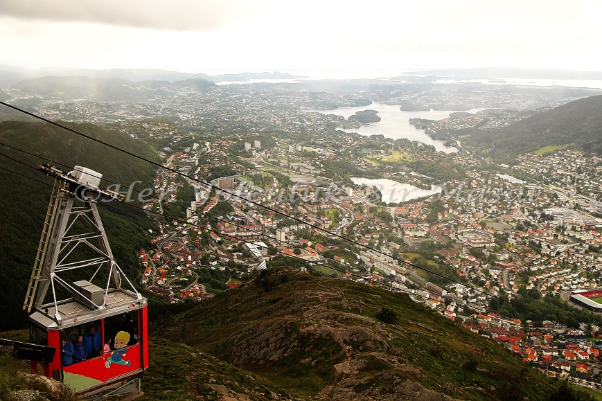 Ulriken Dağı, Bergen, 31.07.2015